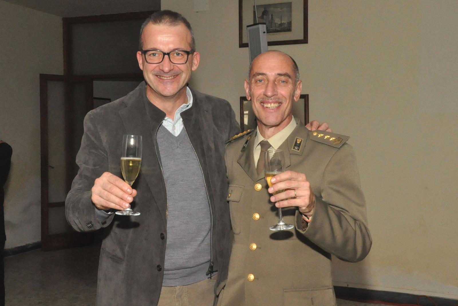 G-iron salutes CISAM's Lt. Col. Alessandro Brancaccio