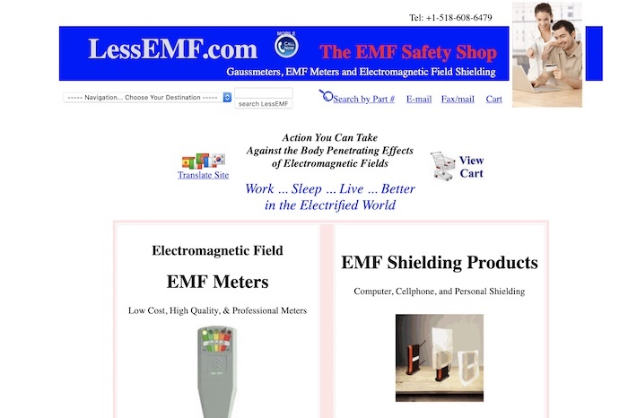 Less EMF