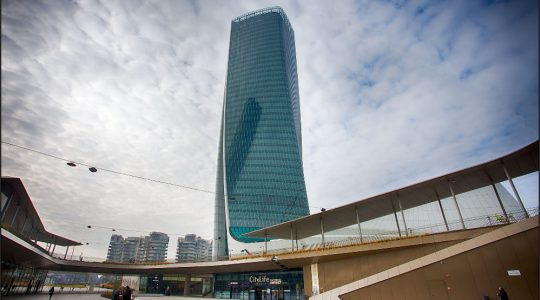 Hadid tower shielded by G-iron® materials